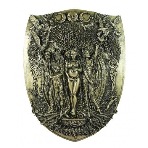Placa de Parede Deusa Tríplice
